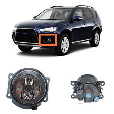 For Mitsubishi Outlander 2007-2015 Pair Left & Right Front Fog Light Lamp