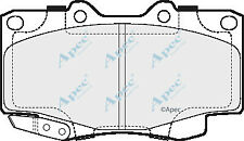 FRONT BRAKE PADS FOR TOYOTA HILUX GENUINE APEC PAD1600