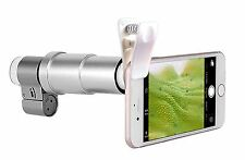 Apexel 200X Optical Zoom Mobile Phone LED Microscope Magnifier Lens with Un... -