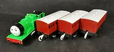 Oliver and 3 x Coaches Motorised Train Trackmaster Thomas And Friends Rare