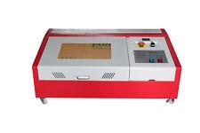 Zweite Generation 40W Laser Engraver Cutting Machine 300x200mm CO2 USB +4wheel