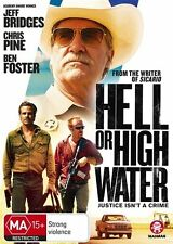 Hell Or High Water (Dvd) Crime Drama Thriller Chris Pine Ben Foster Jeff Bridges