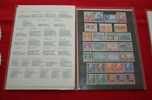 Dänemark Jahreszusammenstellung 1981 - postfrisch