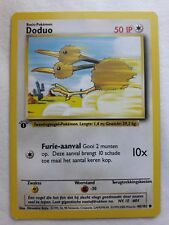 Doduo -  1st Edition, 48/102 Base Set - Dutch IP Common