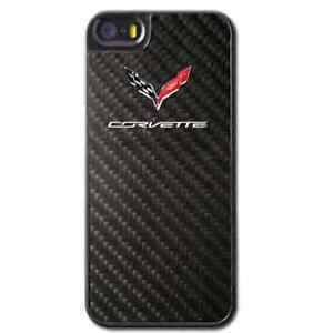 2014 Chevrolet C7 Corvette Stingray Chevy REAL CARBON FIBER I PHONE 5 S COVER