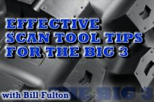 Effective Scan Tool Tips for the Big 3 / Scan Tool Training / DVD / Manual / 119