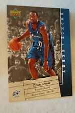 NBA CARD - Upper Deck - Rookie Debut Series - Gilbert Arenas - Wizards