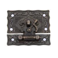 Koffer kipphaken schloss koffer box mailbox brust koffer riegel verschluss clip