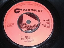 Darts: Get It / How Many Nights 45 - Made In England