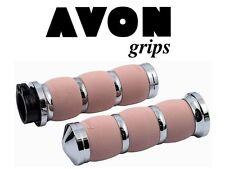 Avon Air amortiguado manejas, cromo - rosa, BILLETE aluminio, HARLEY - Davidson