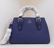 #CRZYHeart Kate Spade Bag WKRU2790 Cove Street Provence Indigo Agsbeagle