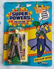 Vintage 1984 Super Powers The Joker MOC 12 Back with Comic & Fan Club Offer