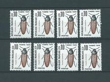 TAXES - 1964-71 YT 103 8x - TIMBRES NEUFS** LUXE