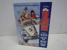 The Love Bug 4 Film Herbie Collection DVD Disney Rides Again Monte Carlo Bananas