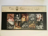 """GB Presentation Pack """"The Coronation 1953-2003"""" Stamps , slip & pack all Superb"""