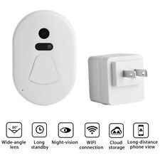 Smart WIFI Doorbell Camera Phone Intercom Wireless Door Bell Home Security Tool