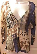 New Womens NIC + ZOE Cardigan Sweater Linen Blends Blue Black Ivory Sz PP Petite