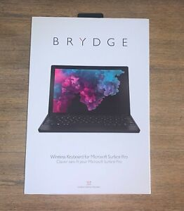 """Brydge 12.3"""" Bluetooth Keyboard for Microsoft Surface Pro 4,5,6,7 Black NEW"""