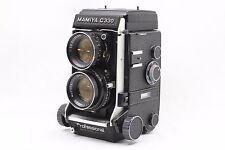 """NearMINT"" Mamiya C330 w/ Sekor DS 105mm F/3.5 Blue-dot lens From Japan #1992"