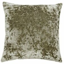 Paoletti Meridian Dove Charcoal Velvet Feel Cushion Cover Zip Fastening 55x55cm