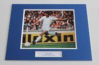 PAUL REANEY Leeds United Genuine HAND SIGNED Autograph Photo Mount + COA!