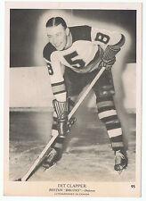 1939-40 O-Pee-Chee V301-1 Dit Clapper # 95 Boston Bruins  (5 x 7 card) WoW !