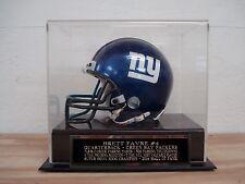 Display Case For Your Brett Favre Packers Signed Football Mini Helmet