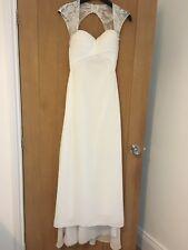 BEAUTIFUL WEDDING DRESS - PETITE SIZE 6 (WEDDING/PROM)