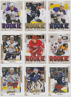 2008-09 UD MVP Gold Script Parallels Numbered /100 - Pick From List - Rookies RC