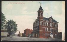1909 Postcard Defiance Oh/Ohio City Hall Building