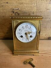 More details for antique french movement carriage clock good working