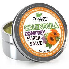 Calendula-Comfrey Salve - Super Salve - Large 4 oz Tin, Super Salve, Herbal Salv
