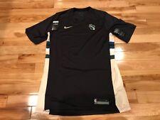 Nike Milwaukee Bucks Statement Ed Team-Issued Shooting Shirt AH5963 014 L-TALL