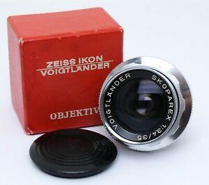 ✮ Voigtländer Skoparex 35mm f/3.4 für Bessamatic OVP// vom Händler!