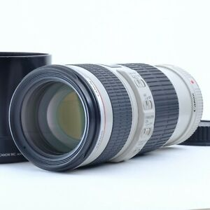 """""""Near Mint"""" Canon ZOOM LENS EF 70-200mm f/4 L USM IS Shipping Japan S/N 265245"""