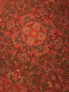 Retired Ralph Lauren Galahad Queen Bed Duvet Cover Medieval Guinevere Aragon Red