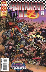 Generation Next Comic 4 Cover A First Print 1995 Scott Lobdell Chris Bachalo