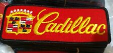 Vintage Cadillac Patch - 1 5/8 × 4 1/2 - Iron/Sew On. Made In USA  25- Patch Lot
