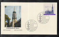 CS 02 ) Germany 2004 beautiful FDC - 100 years of memory church Speyer