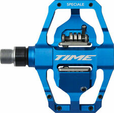 Time Speciale 12 Atac Mountain Bike MTB Enduro Pedals with cleats Blue