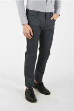 ARMANI uomo Jeans ARMANI JEANS Jeans Slim Fit in Denim Stretch 19cm L 34 Grigio