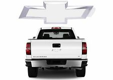 White Painted Rear Tailgate Bowtie 22786435 For 2014-2017 Silverado New USA