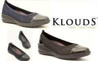 Klouds Footwear Orthotic friendly comfort leather slip on shoes Klouds Bess