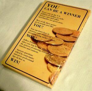 The Prize Winners Handbook 1980 Jeffrey Feinman Bingo Lotteries Paperback Book