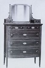 20th Century American Bureau (Chest of Drawers), Magic Lantern Glass Slide