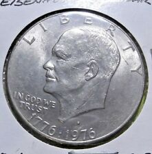Eisenhower Dollar Coin 1976D Ike Copper Nickel Cald Circulated 278