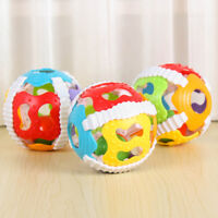 Delicate Handrattle Ball Toys Baby Rattles Handbell Puzzle Educational Toys