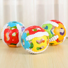 Colorful Handrattle Ball Toys Baby Rattles Handbell Puzzle Educational Toys