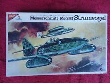 NICHIMO 1:48 MESSERSCHMITT Me 262 Strumvogel make 2 different planes Made Japan