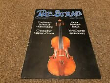 (SRD1) STRAD MAGAZINE COVER PAGE 1982 MAY
